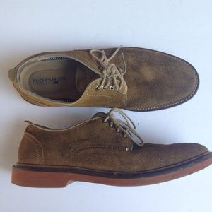 Florsheim Leather Suede Upper Shoes Size 8
